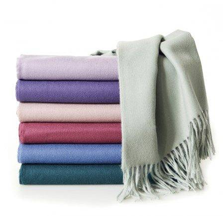 Produktbild på pläden Elvang Luxury throw pläd